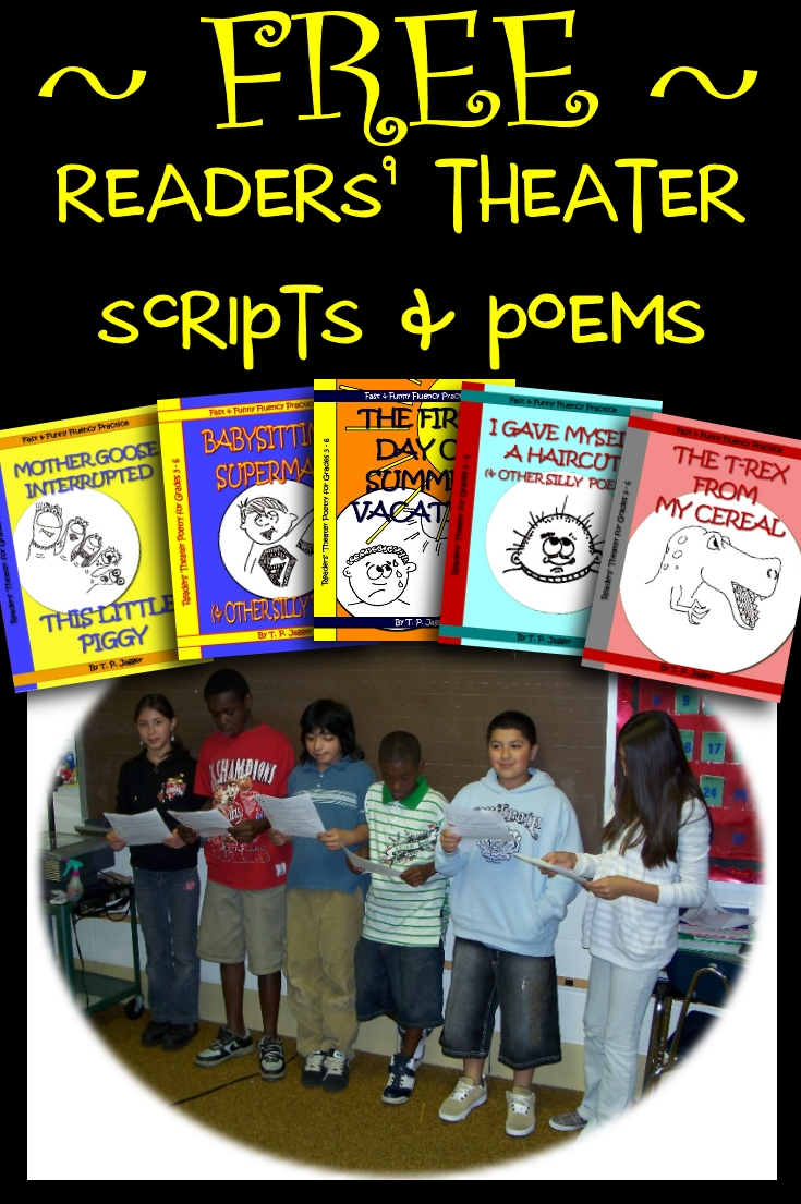 Free Readers' Theater | Free Reading Fluency Activities ...